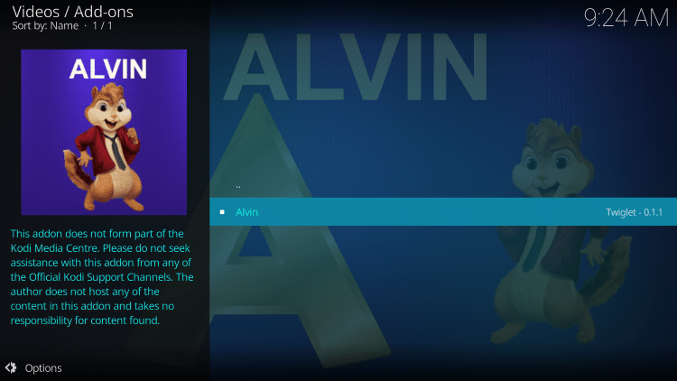 click alvin