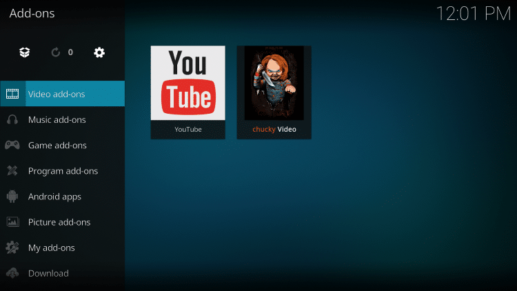 How to Install Chucky Kodi Addon for Movies & TV Shows