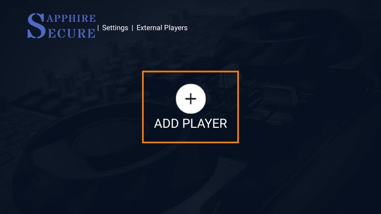 click add player