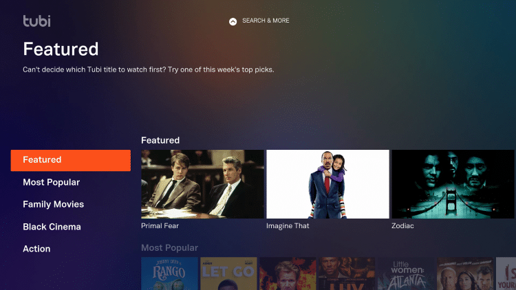 tubi tv is now successfully installed