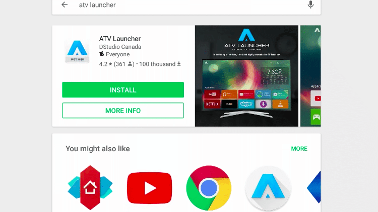 Step 2 - How to Download ATV Launcher App