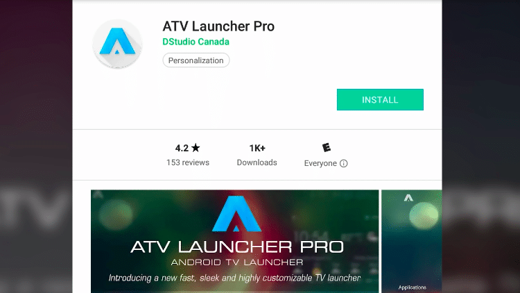 Step 3a - How to Download ATV Launcher App