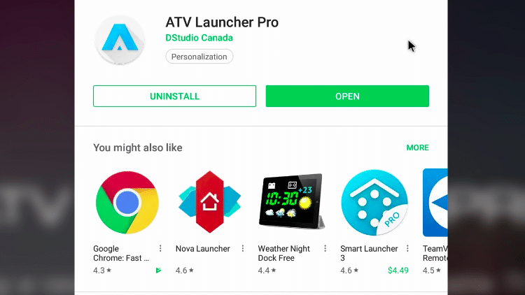 Step 3b - How to Download ATV Launcher App