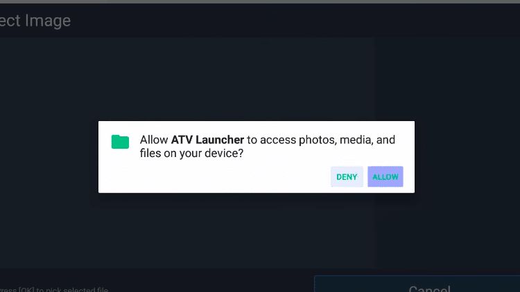 Step 5 - How to Add Widgets on the ATV Launcher