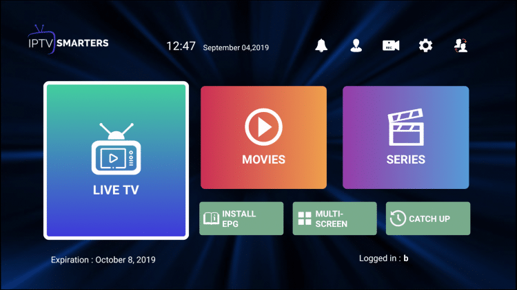 Many prefer to use an EPG or Electronic Program Guide within IPTV Smarters.