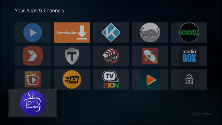 hover over iptv smarters