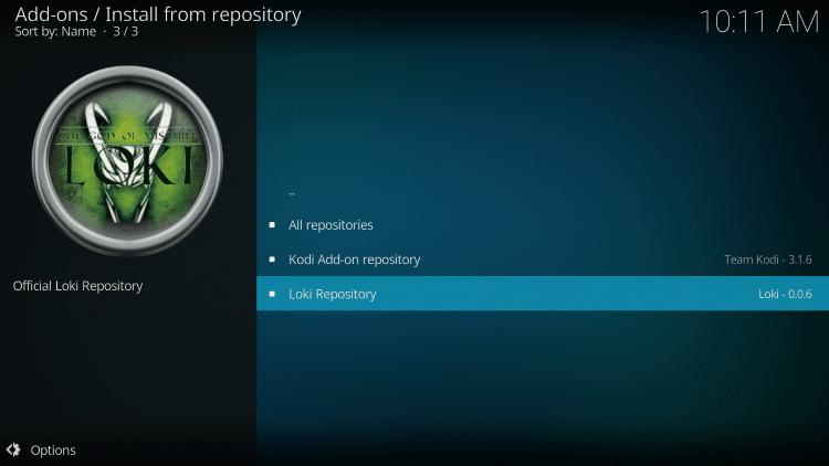 Click Loki Repository