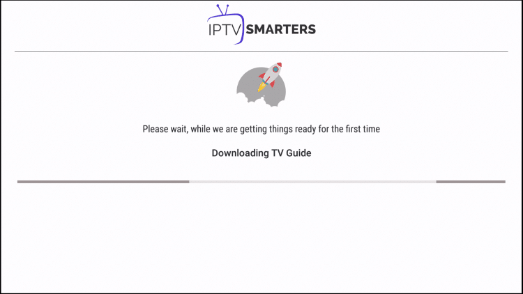 Program Guide will now install within iptv smarters