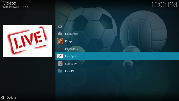 The SportsDevil Kodi add-on is now successfully installed.