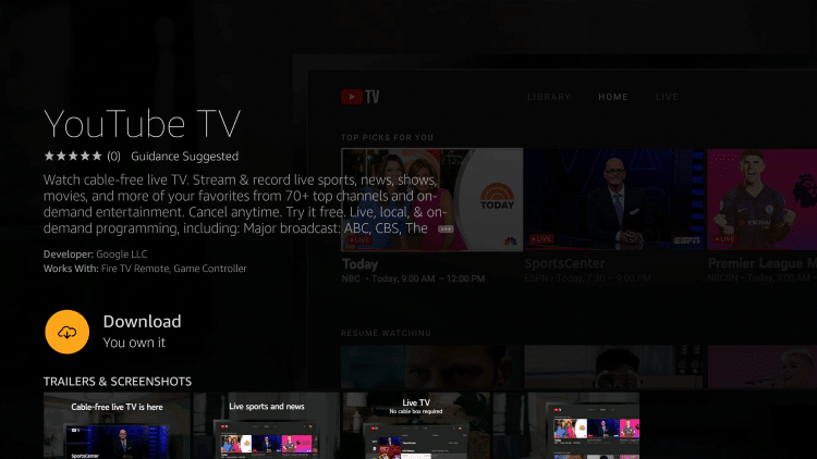 How To Install Youtube Tv On Firestick Fire Tv And Fire Tv Cube