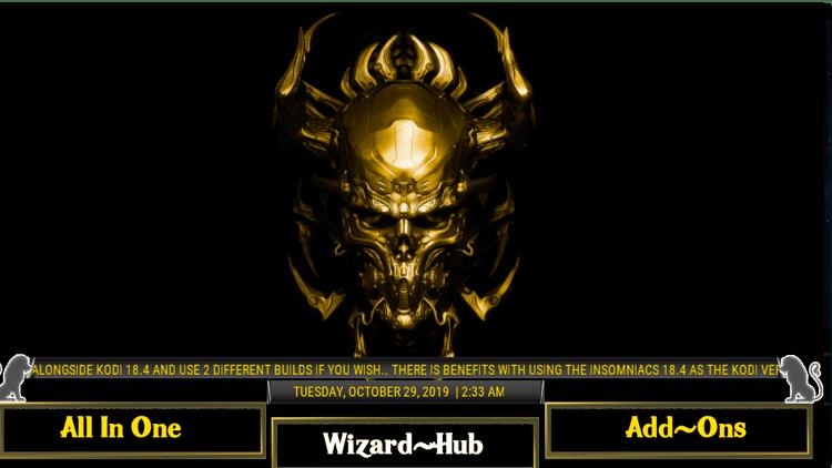 Best Kodi Wizards - Insomniacs Wizard