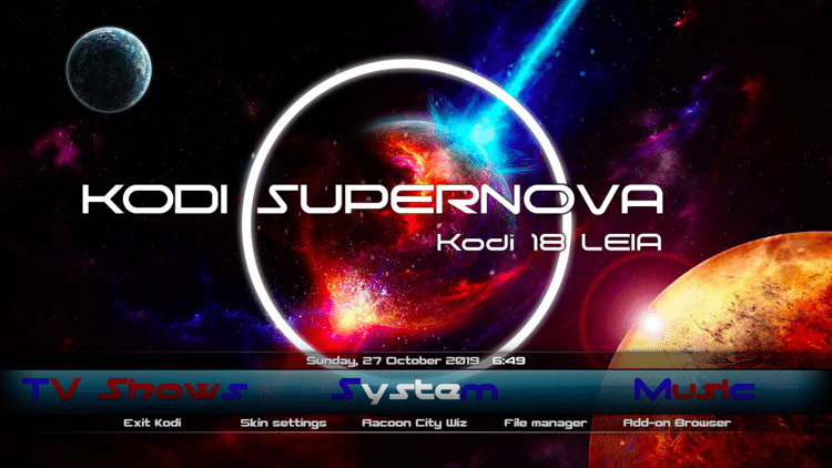 Best Kodi Build For Firestick 2020.How To Install Supernova Kodi Build On Firestick Fire Tv