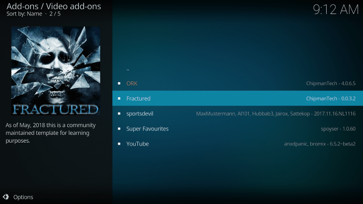 Select Fractured