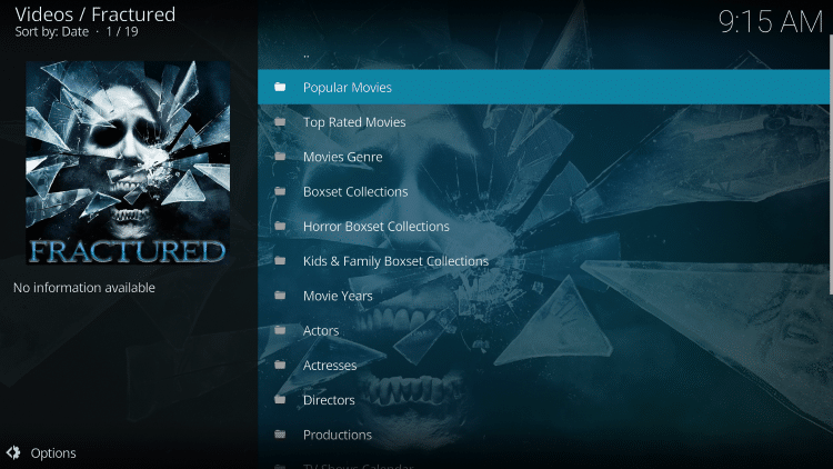 Fractured is one of TROYPOINT's Best Kodi Add-ons available today.