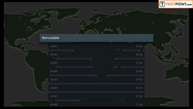 VPN Server setting