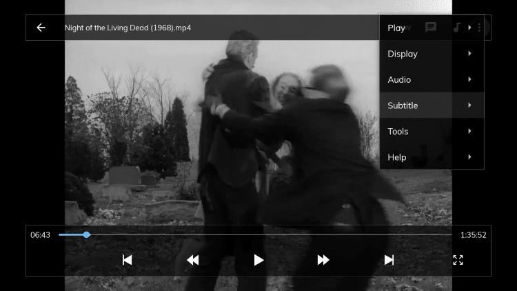 Select Subtitle.