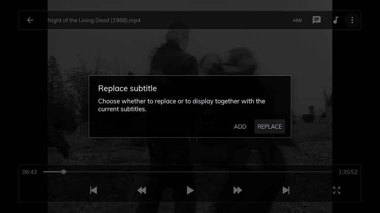 If prompted with this message, just click Replace.