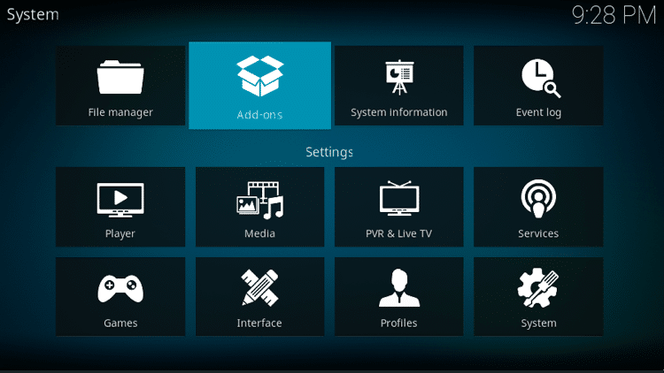 Step 15 - How to Install Black & Gold Build on Firestick, Fire TV & Android TV Box