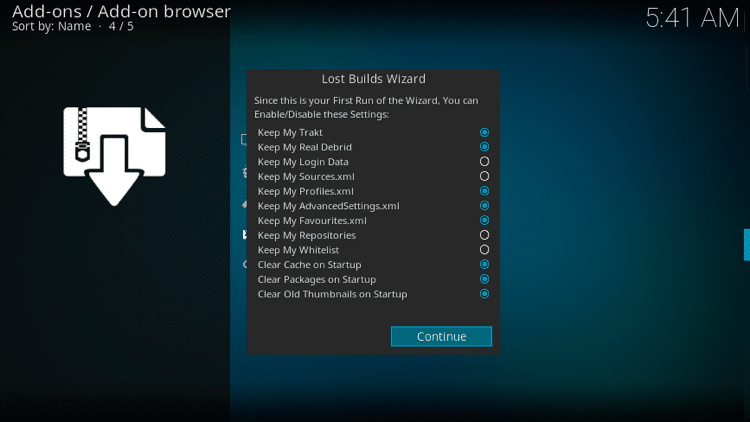 Step 20 - How to Install Mammoth Build on Firestick, Fire TV & Android Box
