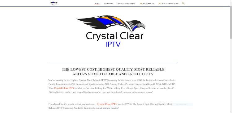 crystal clear iptv service