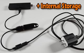 Fire TV Stick 4K Internal Storage