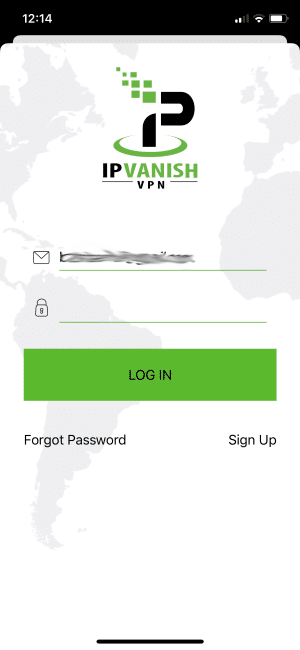 enter credentials and click login