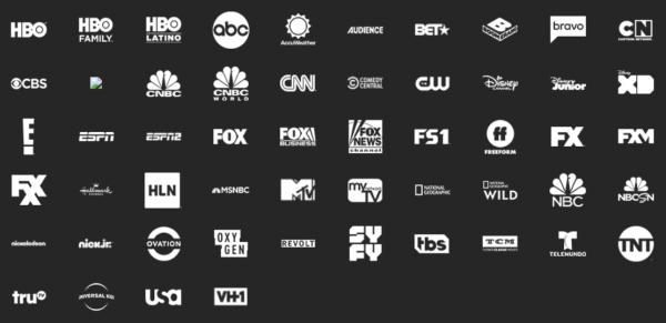 att tv now channels