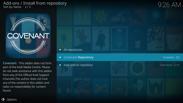 Click Covenant Repository