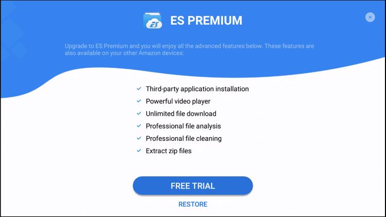 es file explorer pro features