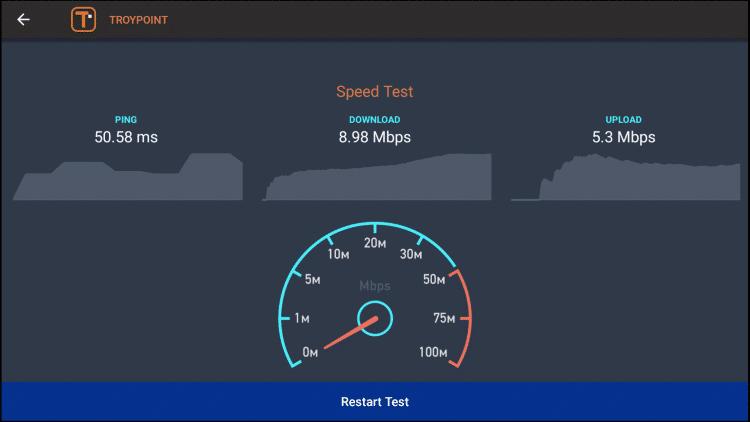 firestick speed test