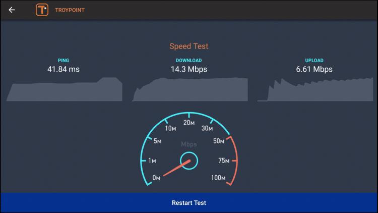 firestick speed test 2