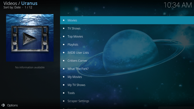 we have included Uranus in the TROYPOINT's Best Kodi Add-ons List.