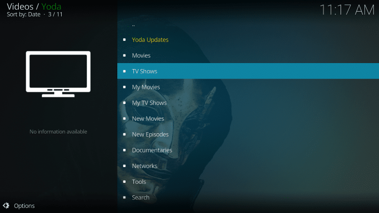 For these reasons and more we have included Yoda in the TROYPOINT's Best Kodi Add-ons List.