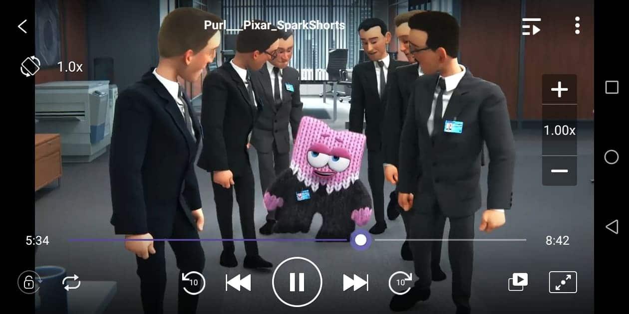KMPlayer Screenshot - Purl - Pixar