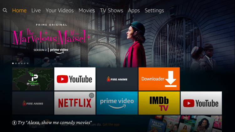 Step 1 - How to Install Bookmarker on Firestick