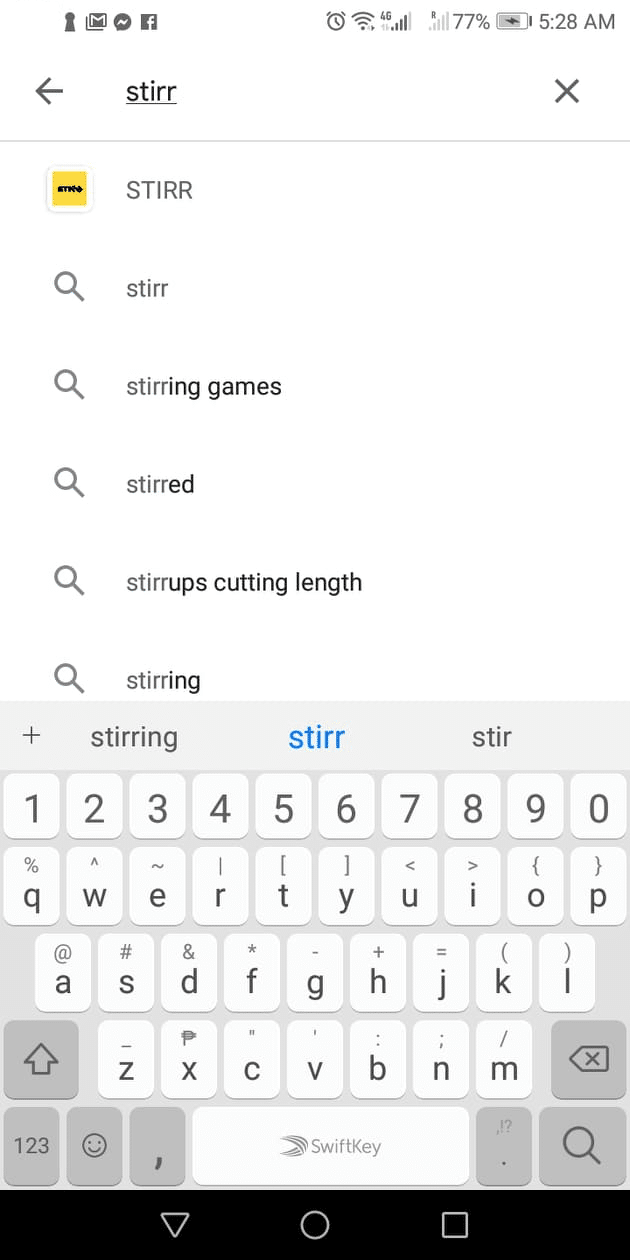 Step 1.0 - How to Install STIRR on Android Device