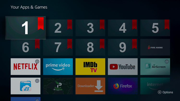 Step 14.1 - How to Install Bookmarker on Firestick