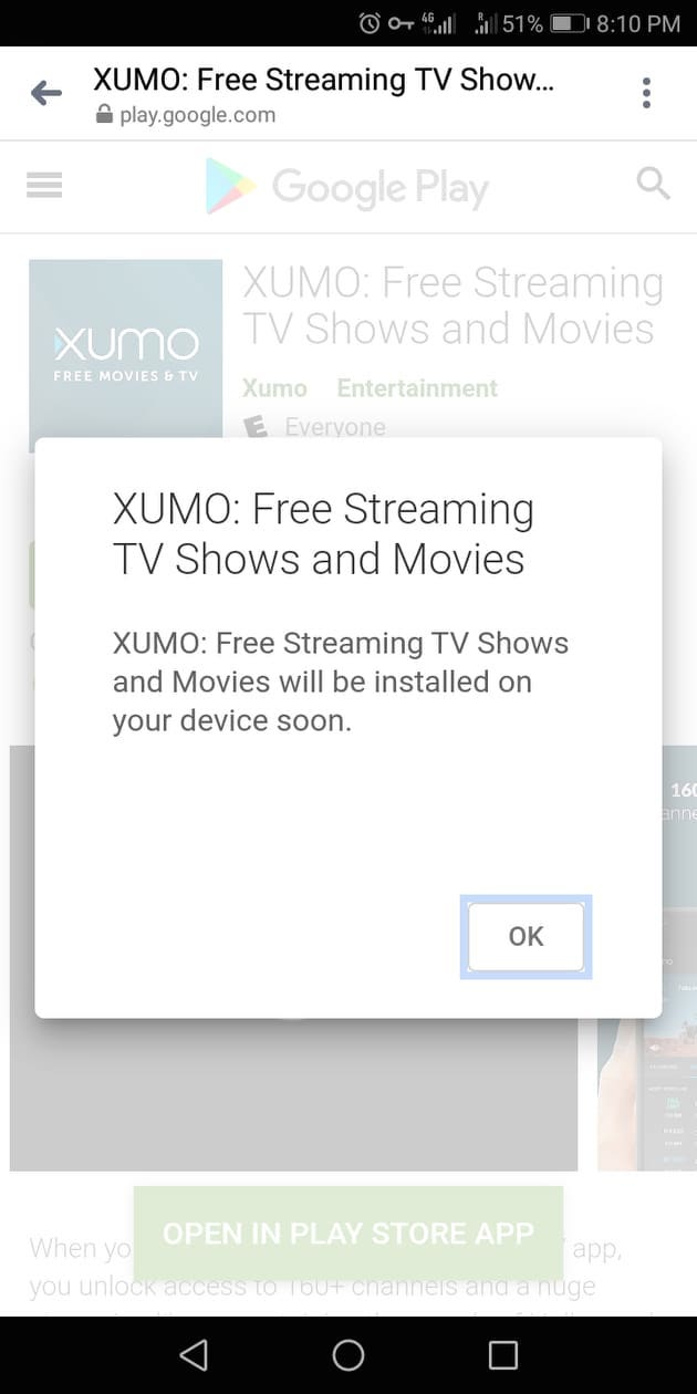 Step 4 - How to Install XUMO on an Android Device