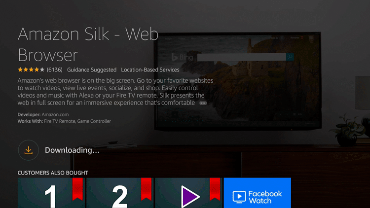Step 6 - How to Install Amazon Silk - Web Browser