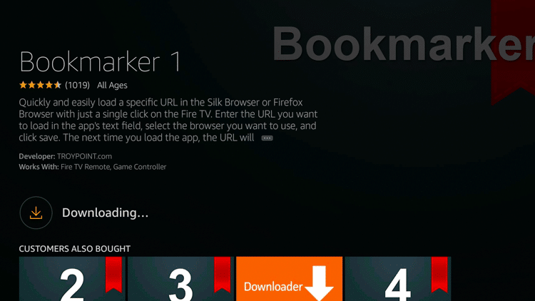 Step 6 - How to Install Bookmarker on Firestick