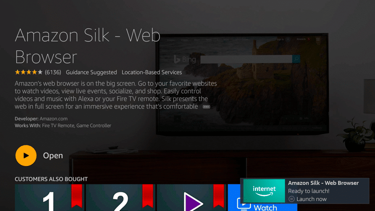 Step 7 - How to Install Amazon Silk - Web Browser