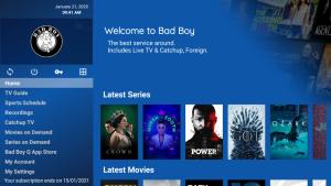 bad boy media iptv categories