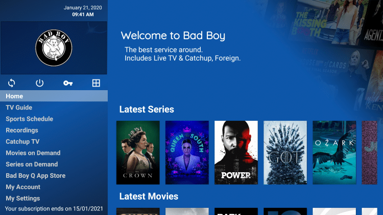 That's it! You have now successfully signed up for a Bad Boy Media IPTV account.