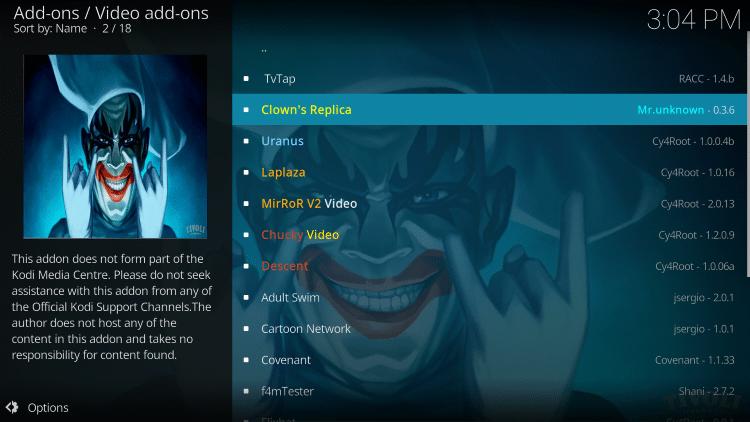 Choose Clowns Replica
