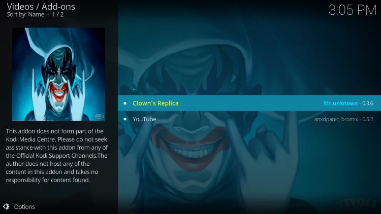 Click Clowns Replica