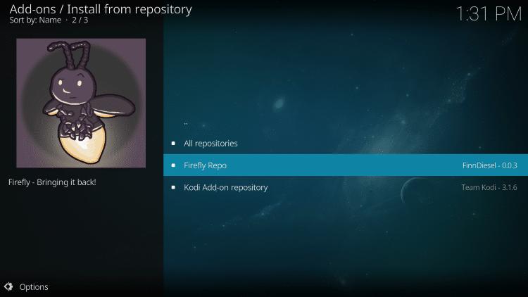 Click Firefly Repo