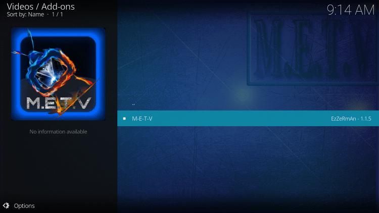 Select METV