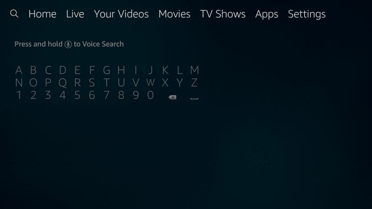 Step 1 - How to Install CuriosityStream on Firestick:Fire TV
