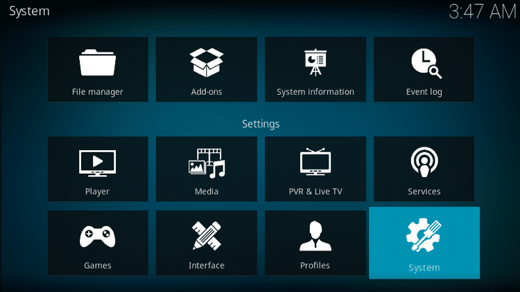 Step 3 - How to Install 7of9 Swift StreamZ Kodi Addon