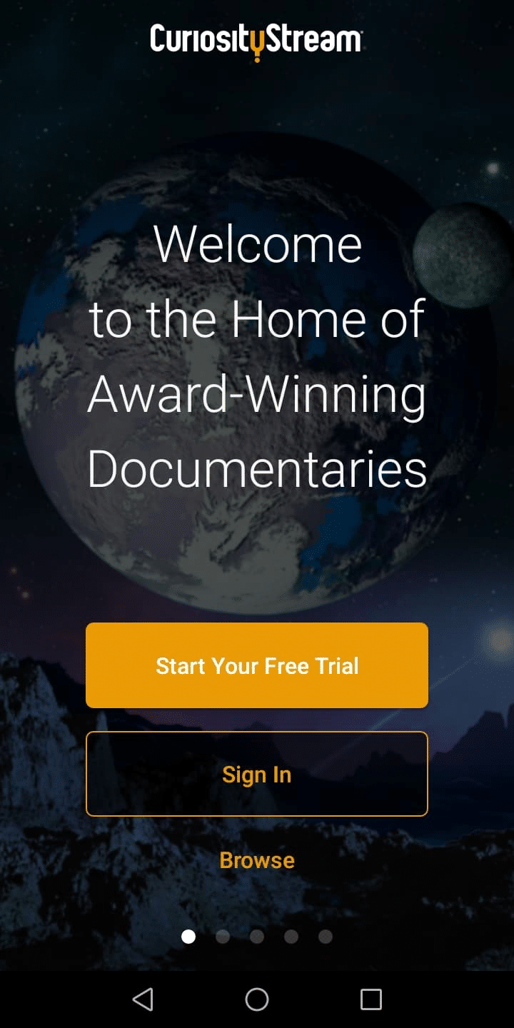 Step 6 - How to Install CuriosityStream on Android